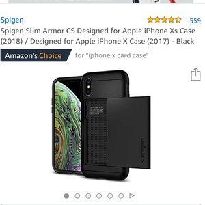 NWB iPhone X Case